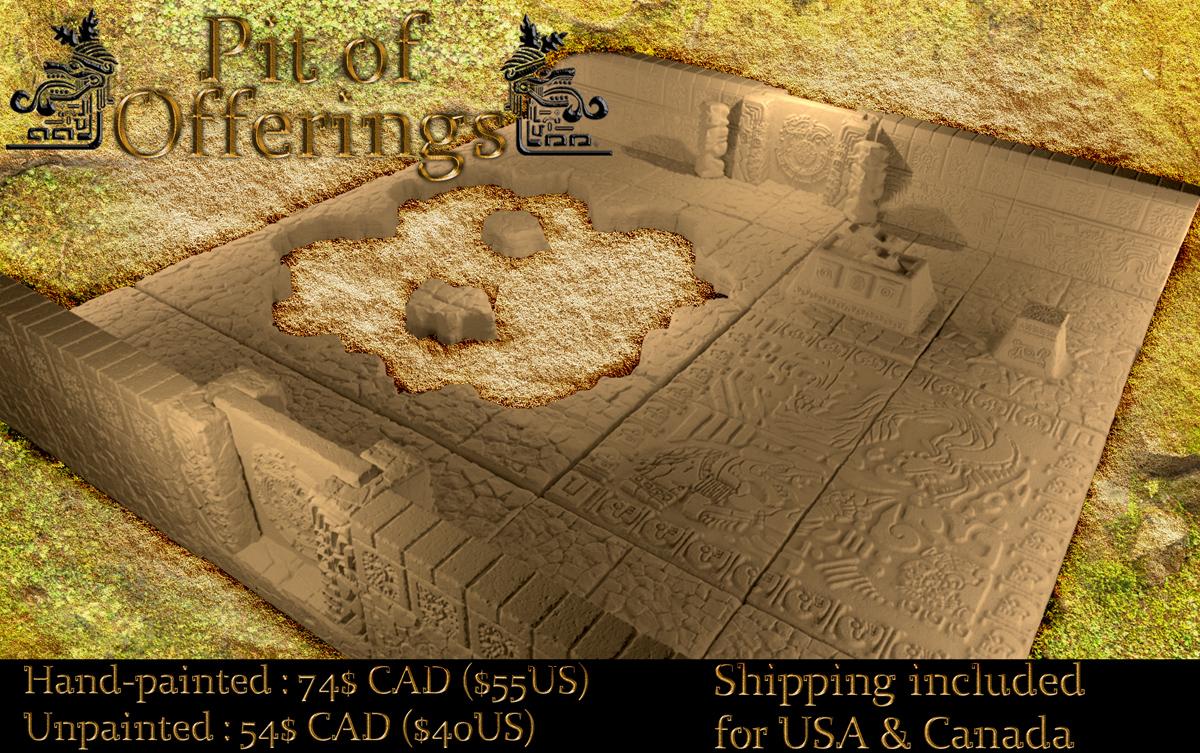 The Path to El Dorado - Modular Aztec Dungeons by